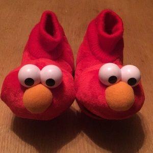 Sesame Street Elmo Slippers 5-6
